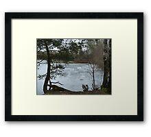 Lake Mölnesjön in March Framed Print