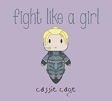Fight Like a Girl - Daughter of Champions by isasaldanha
