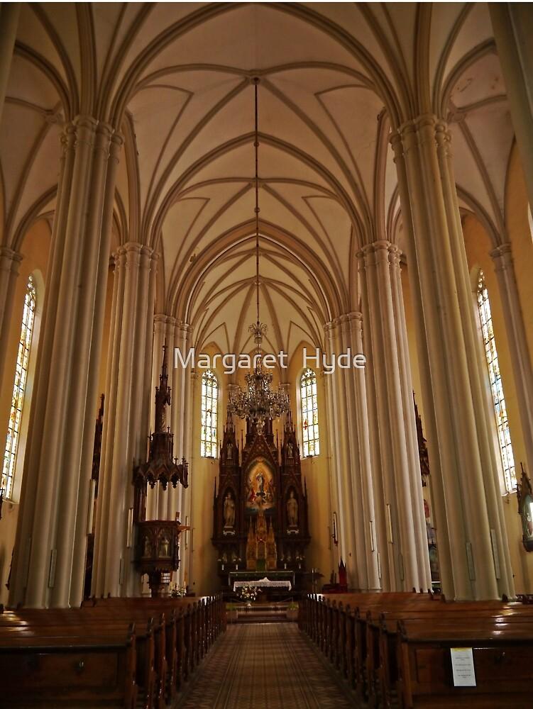Name of Mary Church, Novi Sad, Serbia, interior by Margaret  Hyde