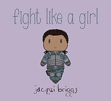 Fight Like a Girl - Mortal Kombat's Jacqui Briggs by isasaldanha