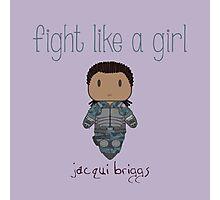 Fight Like a Girl - Mortal Kombat's Jacqui Briggs Photographic Print