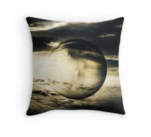Displace Throw Pillow