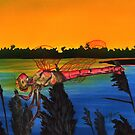 Dragonfly Sunset by Kathleen Kelly-Thompson