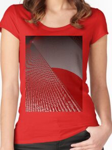 Roaming Red Women's Fitted Scoop T-Shirt