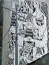 Mural, Belgrade, Serbia by Margaret  Hyde