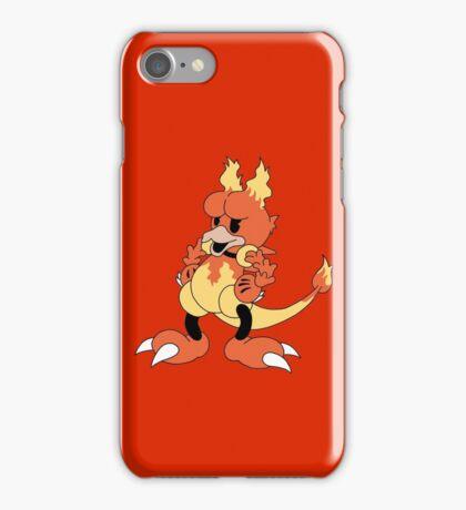 Blaine's Fire Duck #126 iPhone Case/Skin