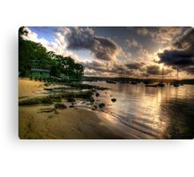 Seclusion - Paradise Beach , Sydney - The HDR Experience Canvas Print