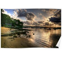 Seclusion - Paradise Beach , Sydney - The HDR Experience Poster