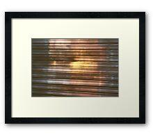 spring moves  Framed Print