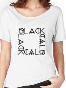 BLACKx4 Women's Relaxed Fit T-Shirt
