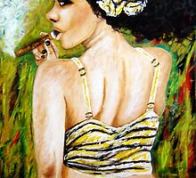The Cohiba girl by amoxes