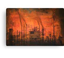 Five O'Clock Smog Report Canvas Print