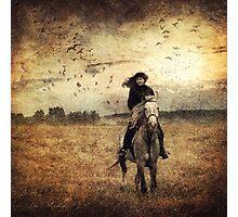 Riding Photographic Print