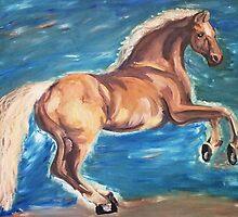 Rearing Horse by HannahVarela