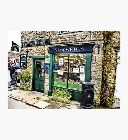 The Sandwich Shop - Helmsley. Photographic Print