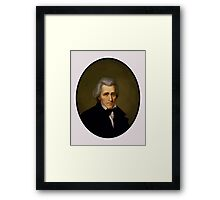 President Andrew Jackson Framed Print