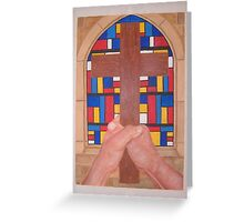 Hands of Faith Hope Greeting Card
