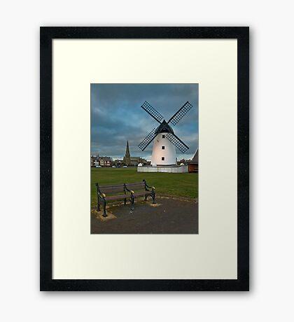 Windmill at Lytham St. Annes Framed Print