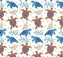 The Sea Turtle Pattern by haidishabrina