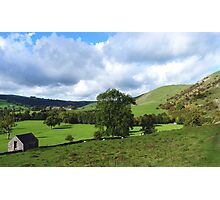 From Thorpe Cloud Dovedale. Photographic Print