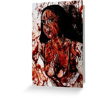 Bloody Hell Greeting Card