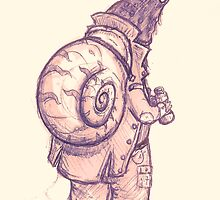 The Mighty Man-Snail by Ben Cresswell