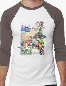 australia  Men's Baseball ¾ T-Shirt