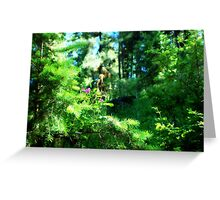 Forest Love 2 Greeting Card