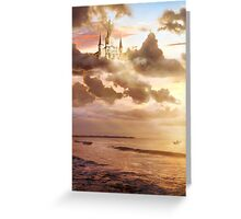 Castles in the Sky Greeting Card