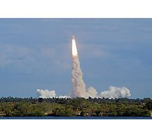Liftoff: Space Shuttle Atlantis Photographic Print