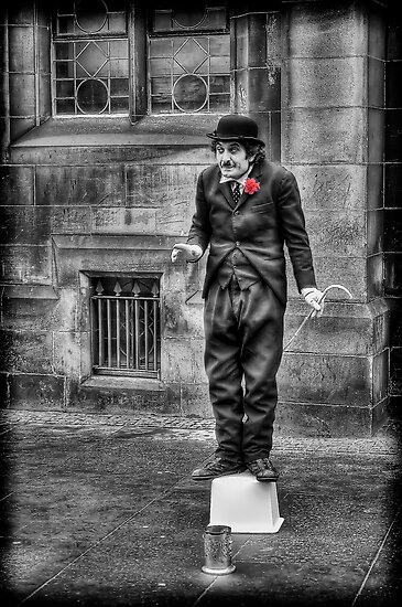 Charlie Chaplin by Don Alexander Lumsden (Echo7)