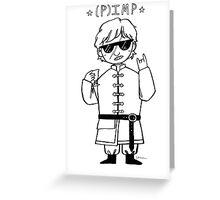 p(imp) Greeting Card