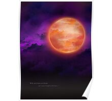 Bloodborne Blood Moon Poster