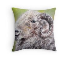 herdwick sheep pastel Throw Pillow