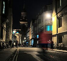 Turl Street Dash, Oxford by eekCards