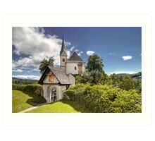 Maria Worth - Church Art Print