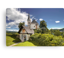 Maria Worth - Church Canvas Print