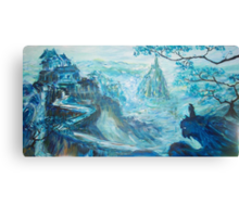 Conquer of the Blue Mountain  Canvas Print