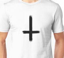 Upside Down Cross Unisex T-Shirt