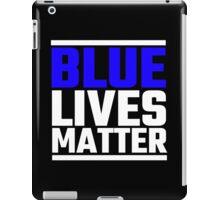 Blue Lives Matter iPad Case/Skin