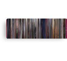 Moviebarcode: A Clockwork Orange (1971) Canvas Print