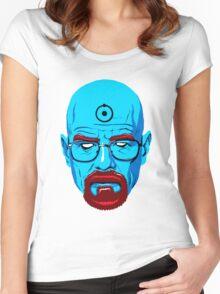 BREAKING BAD-WALTER WHITE-DR MANHATTAN Women's Fitted Scoop T-Shirt