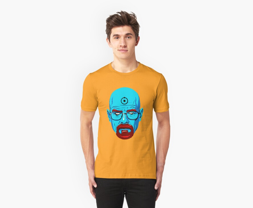 BREAKING BAD-WALTER WHITE-DR MANHATTAN by tomasb94