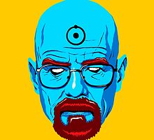 WALTER WHITE-DR MANHATTAN by tomasb94