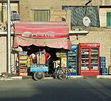 Cairo Coca Cola by Chris Vincent