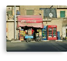 Cairo Coca Cola Canvas Print