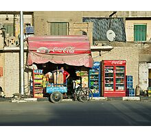 Cairo Coca Cola Photographic Print