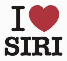 I Love SIRI by ilvu