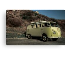 The V dub at the Rock  Canvas Print