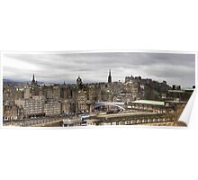 View from Calton Hill Poster